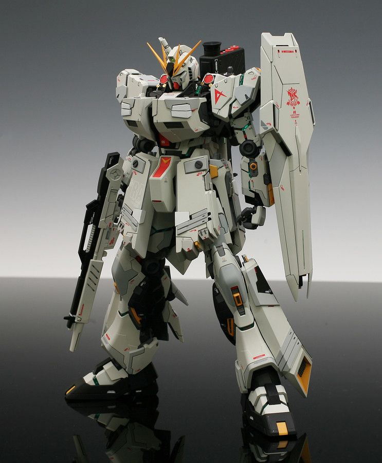 "GUNDAM GUY: MG 1/100 RX-93 Nu Gundam Ver. Ka ""Heavy Weapon System"" - Custom…"