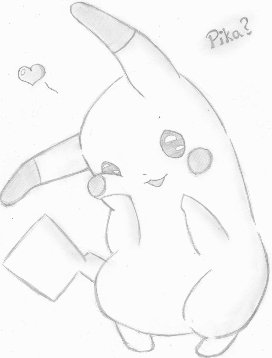 Cute Drawings | Cute Baby Pikachu Drawings Cute Pikachu Drawing
