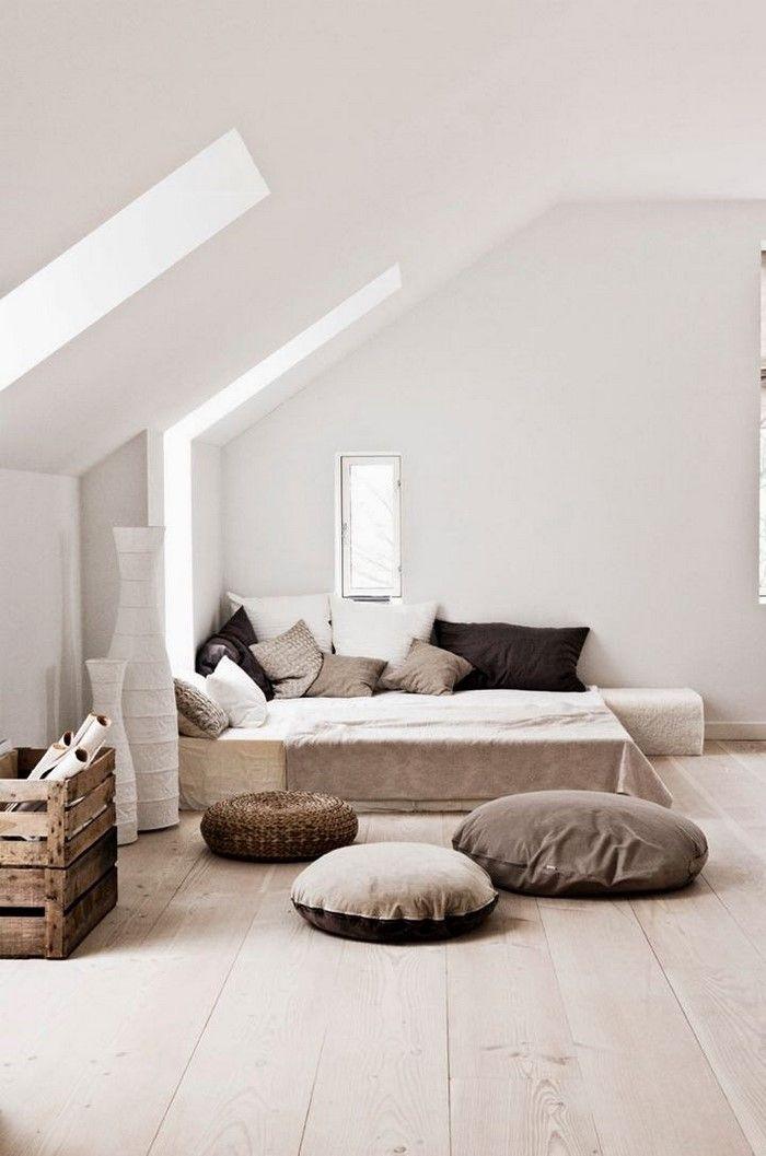 Chill Ecke Attic, yeah! Pinterest Dachschräge, Dachgeschosse - schlafzimmer ideen mit schrgen