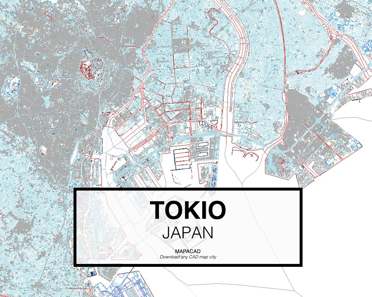 mapa portugal dwg Tokio   Japan. Download CAD Map city in dwg ready to use in  mapa portugal dwg