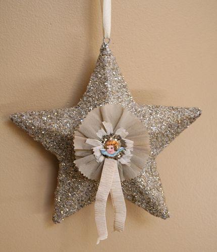 star ornament by pam garrison, via Flickr