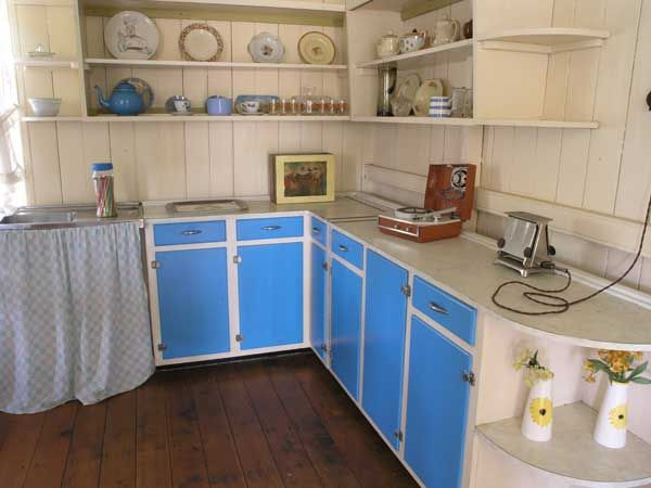 Vintage retro 1950s kitchen cupboard kitchenette by Ellis very – 1950 Kitchen Design