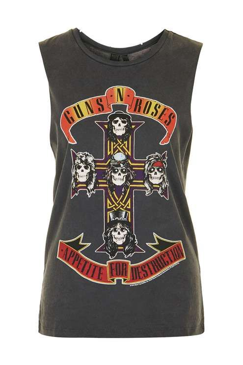 274f2f59 Guns and Roses Tour Tank by And Finally | THE STREETS ARE A RUNWAY ...