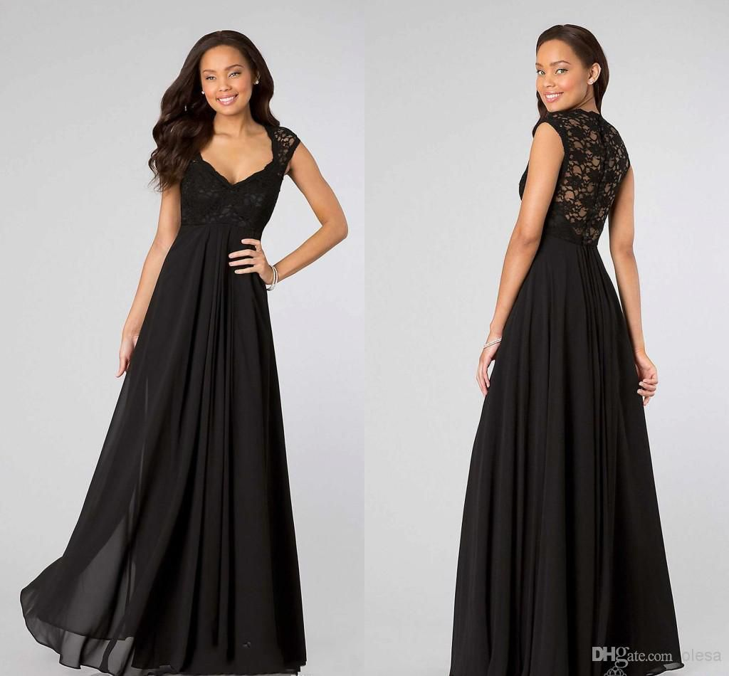 2016 see through mermaid prom dress sexy spaghetti neckline open 2014 sexy black cap short sleeve with lace back cheap maternity bridesmaid dress long chiffon sheath ombrellifo Image collections