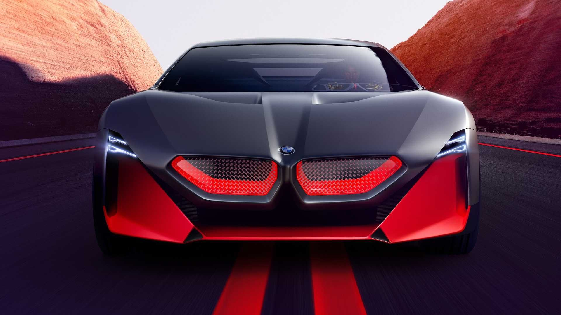 Bmw Vision M Concept Is A Stunning And Futuristic M1 Bmw Concept Car Super Cars Bmw Sports Car