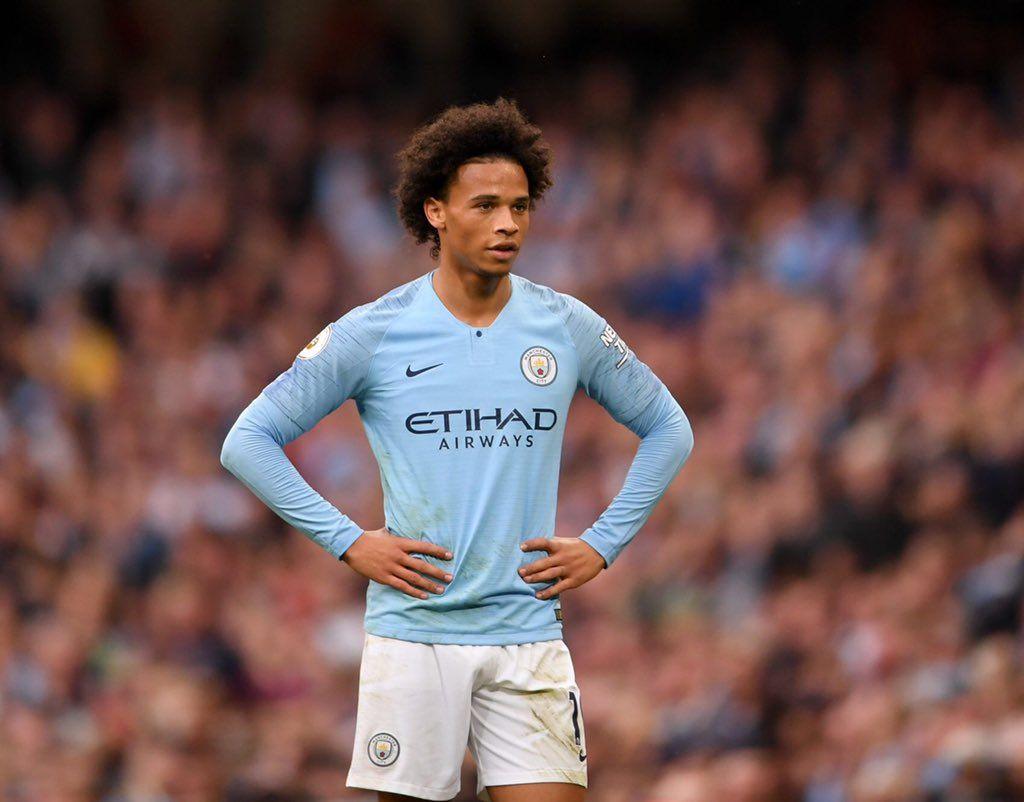 Pep On Sane Extension Long Sleeve Tshirt Men Manchester City Football Club Leroy Sane