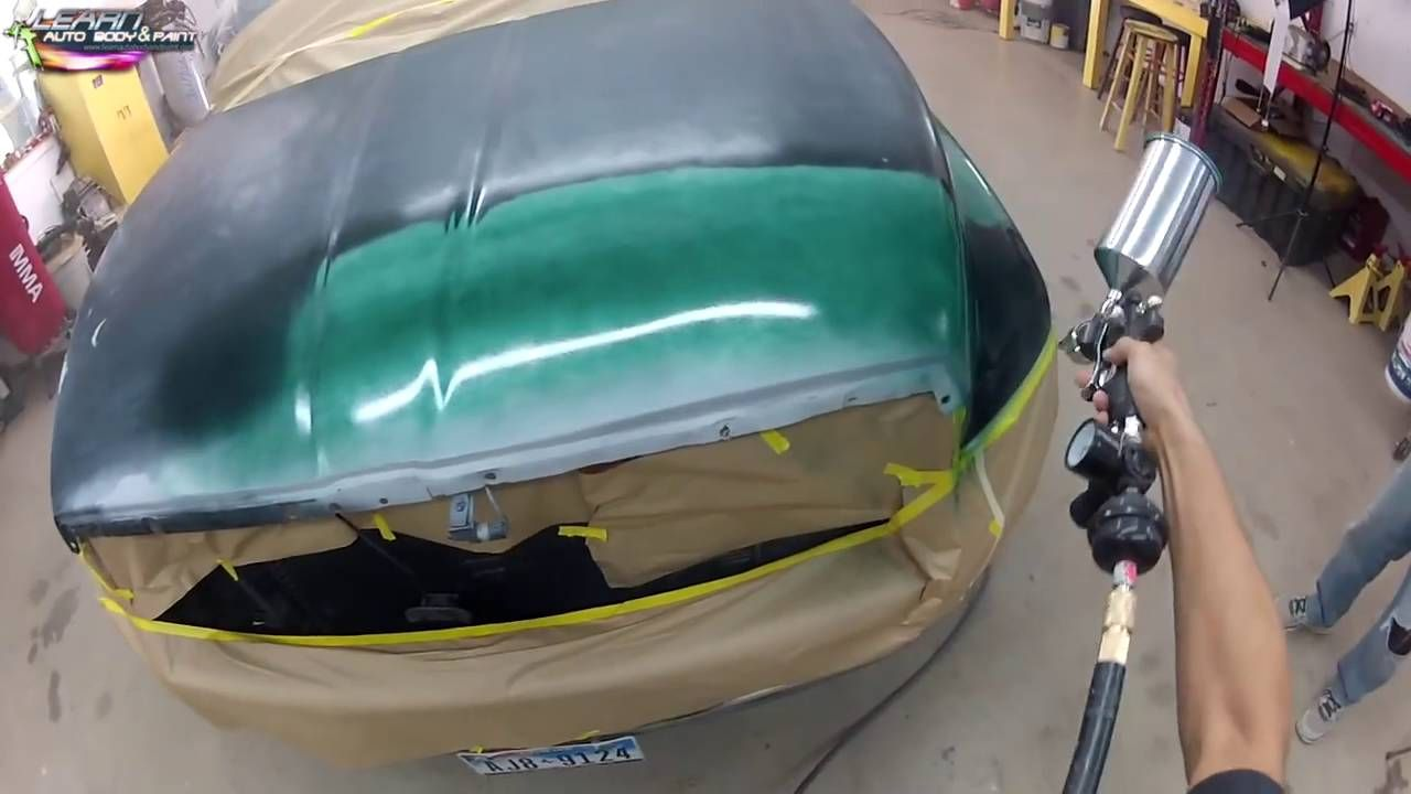For Newbies Auto Body And Car Painting Footage Step by