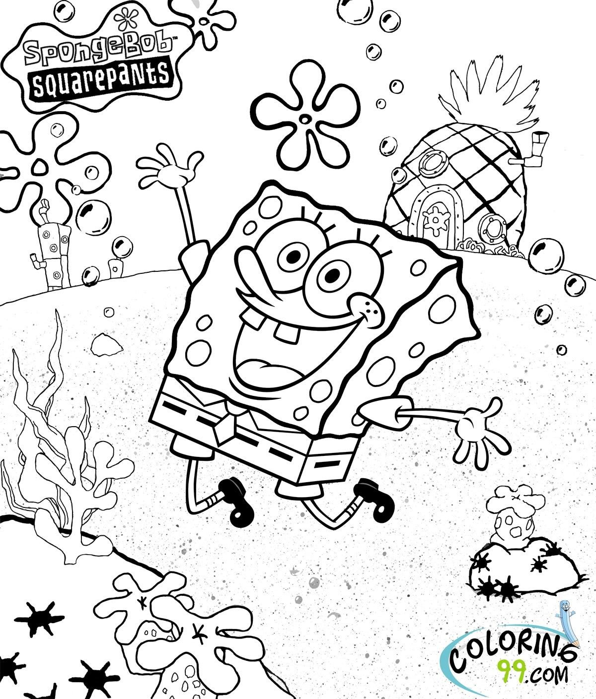 Spongebob Squarepants Easter Coloring Pages Through The Thousands Of Photos On Line Regardin Cartoon Coloring Pages Spongebob Coloring Designs Coloring Books