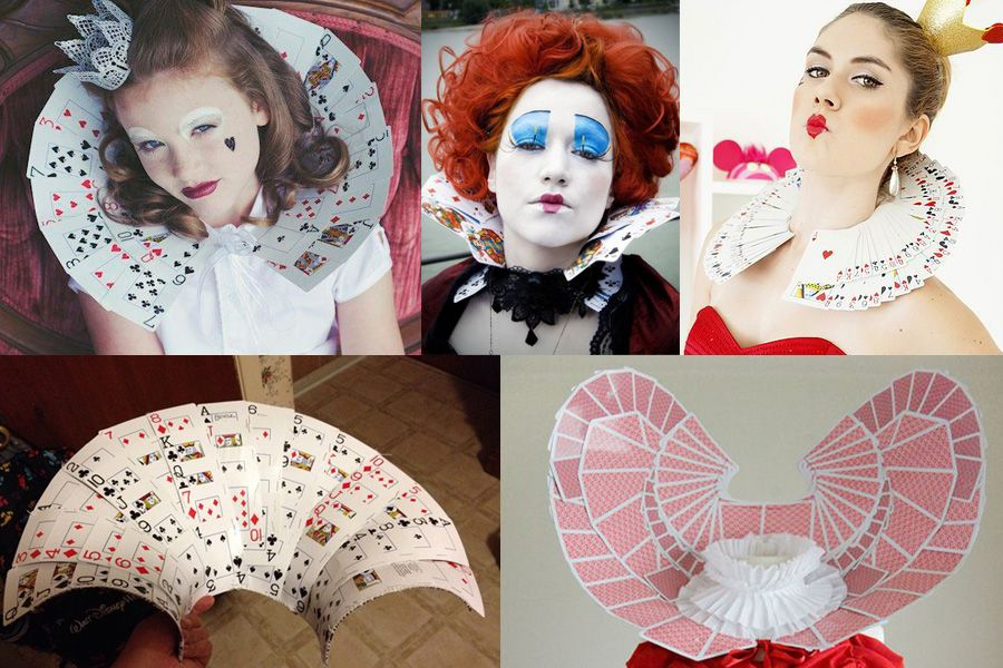 How To Make A Queen Of Hearts Costume Card Costume Queen Of Hearts Costume Alice In Wonderland Costume