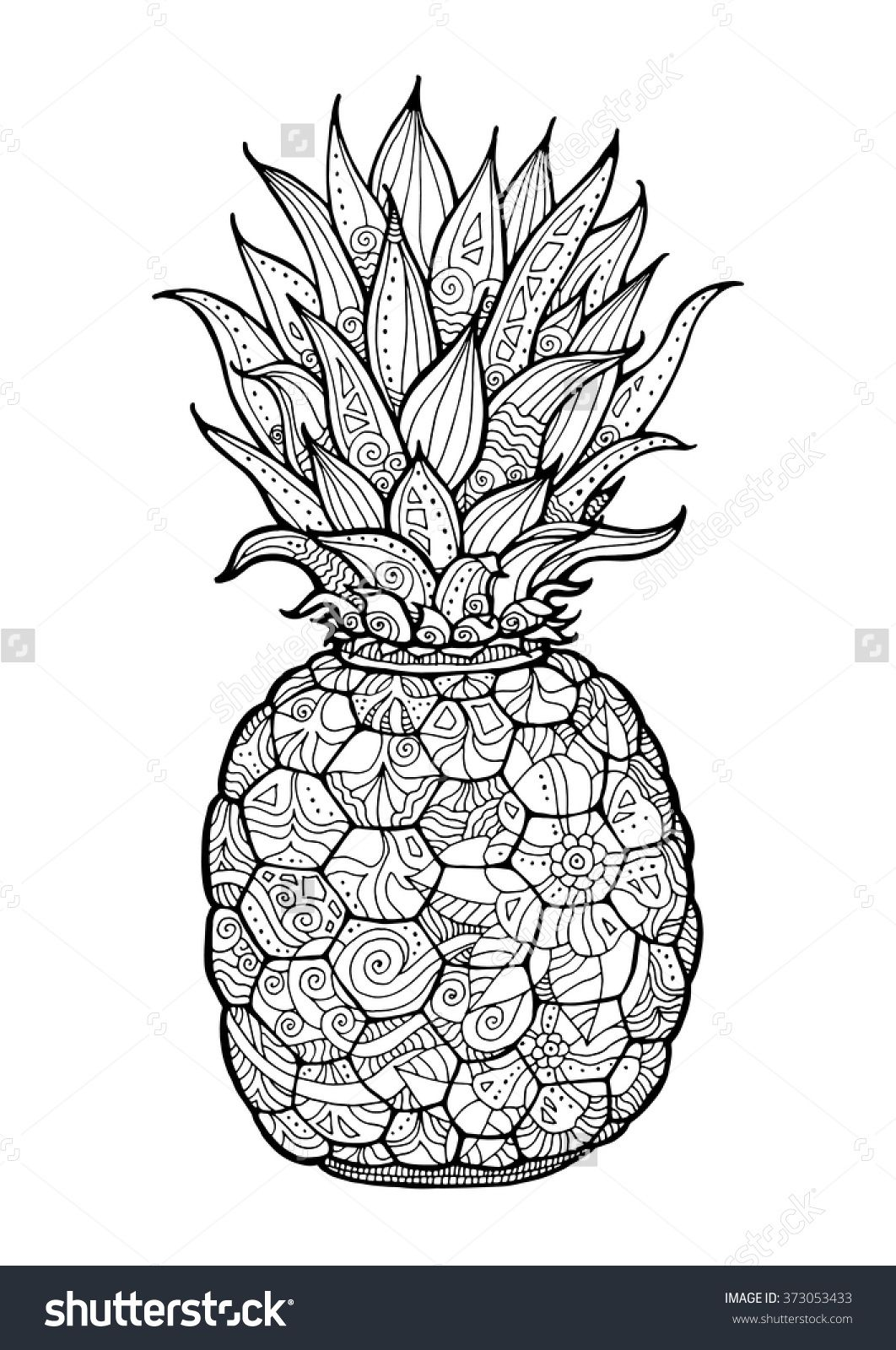Discover millions of royalty free photos illustrations - Ananas dessin ...