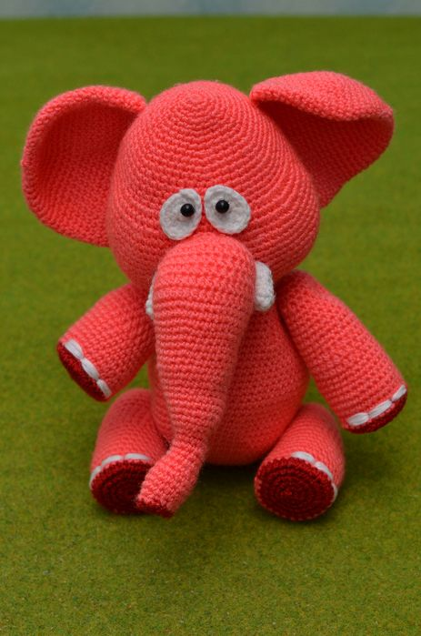 Слоник 2 (463x700, 442Kb) | Crochet | Pinterest | Gehäkelte puppen ...
