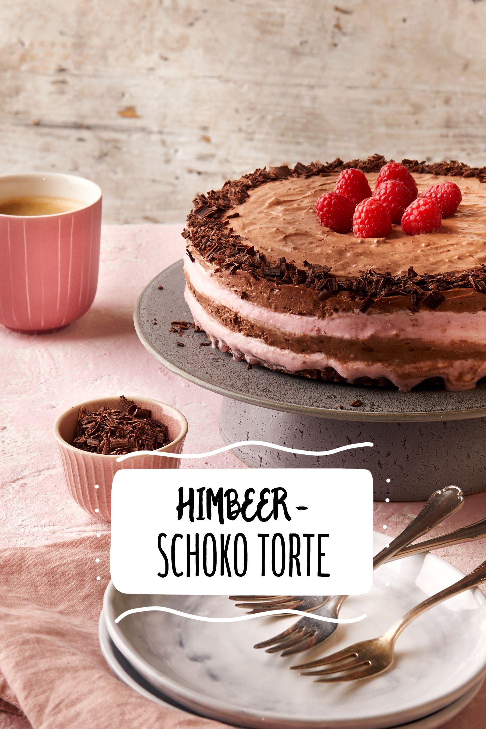Himbeer Schoko Torte Rezept In 2018 Hochzeitstorten Mehr