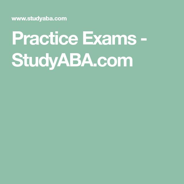 Pass The BCBA® Exam