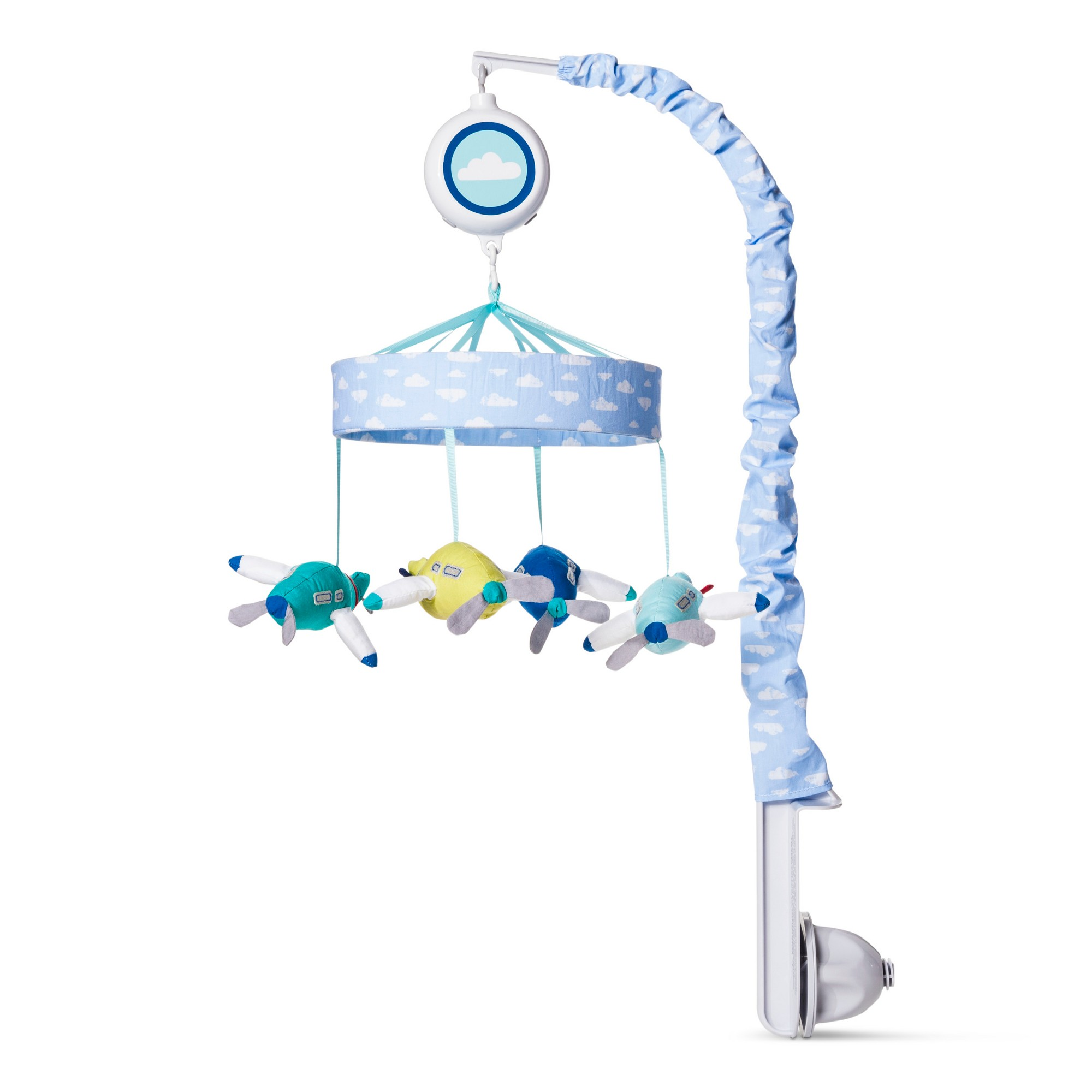 Crib Mobile Fly, Fly Away  Cloud Island Light Blue