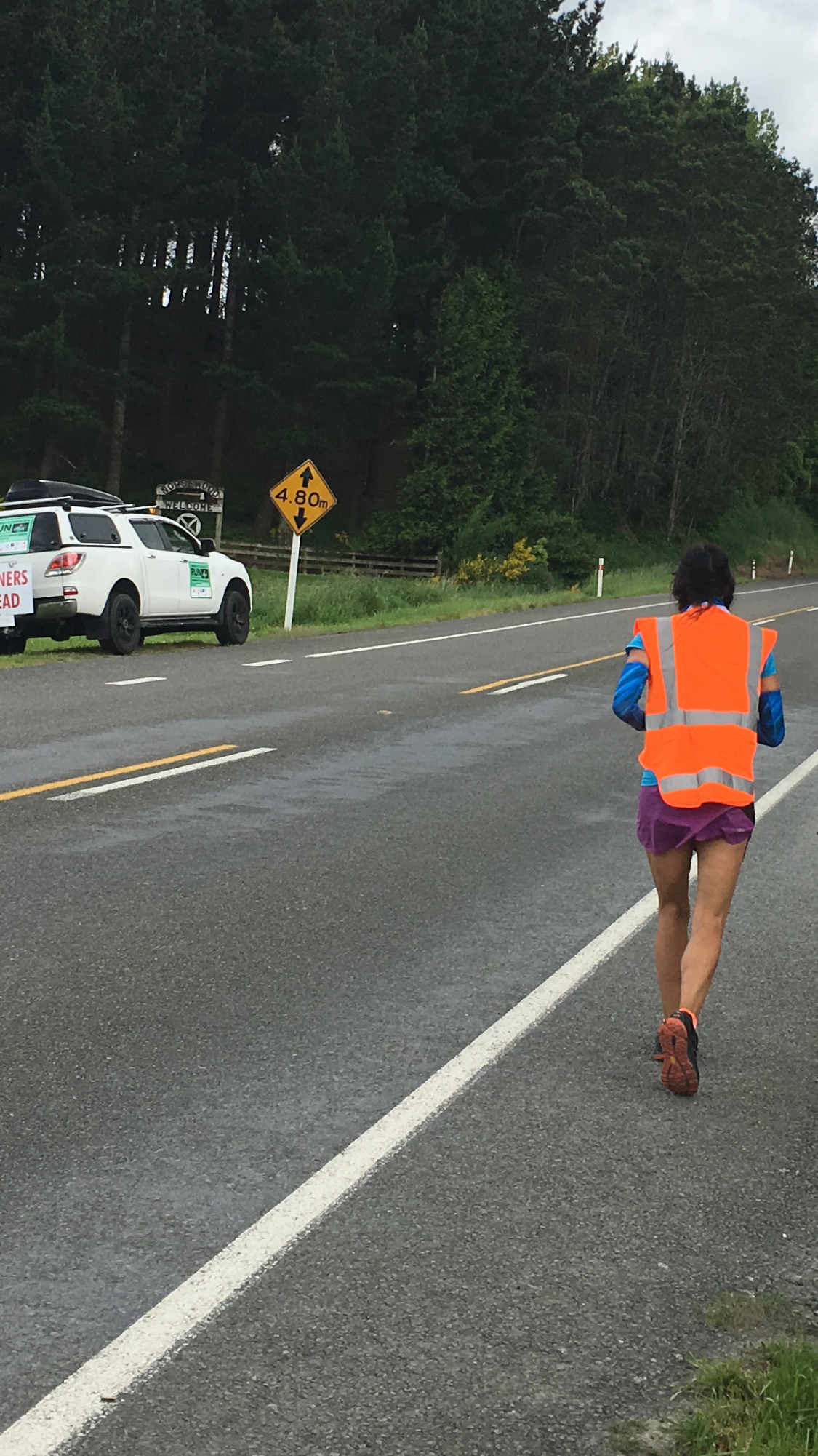 Running the North Island for the Samuel Gibson memorial