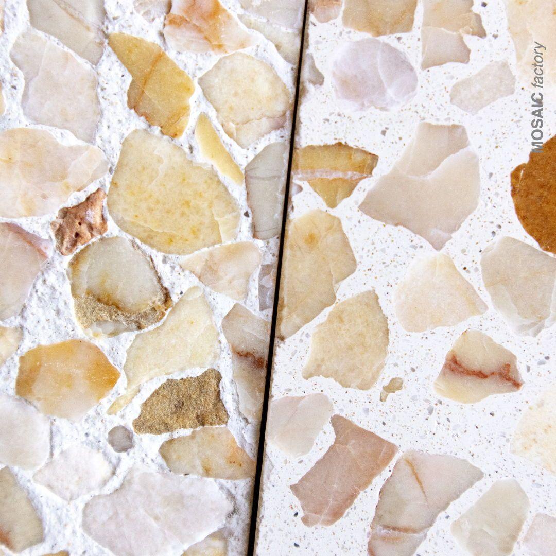 Terrazzo Tile With Anti Slip Texture Vs Standard Finish