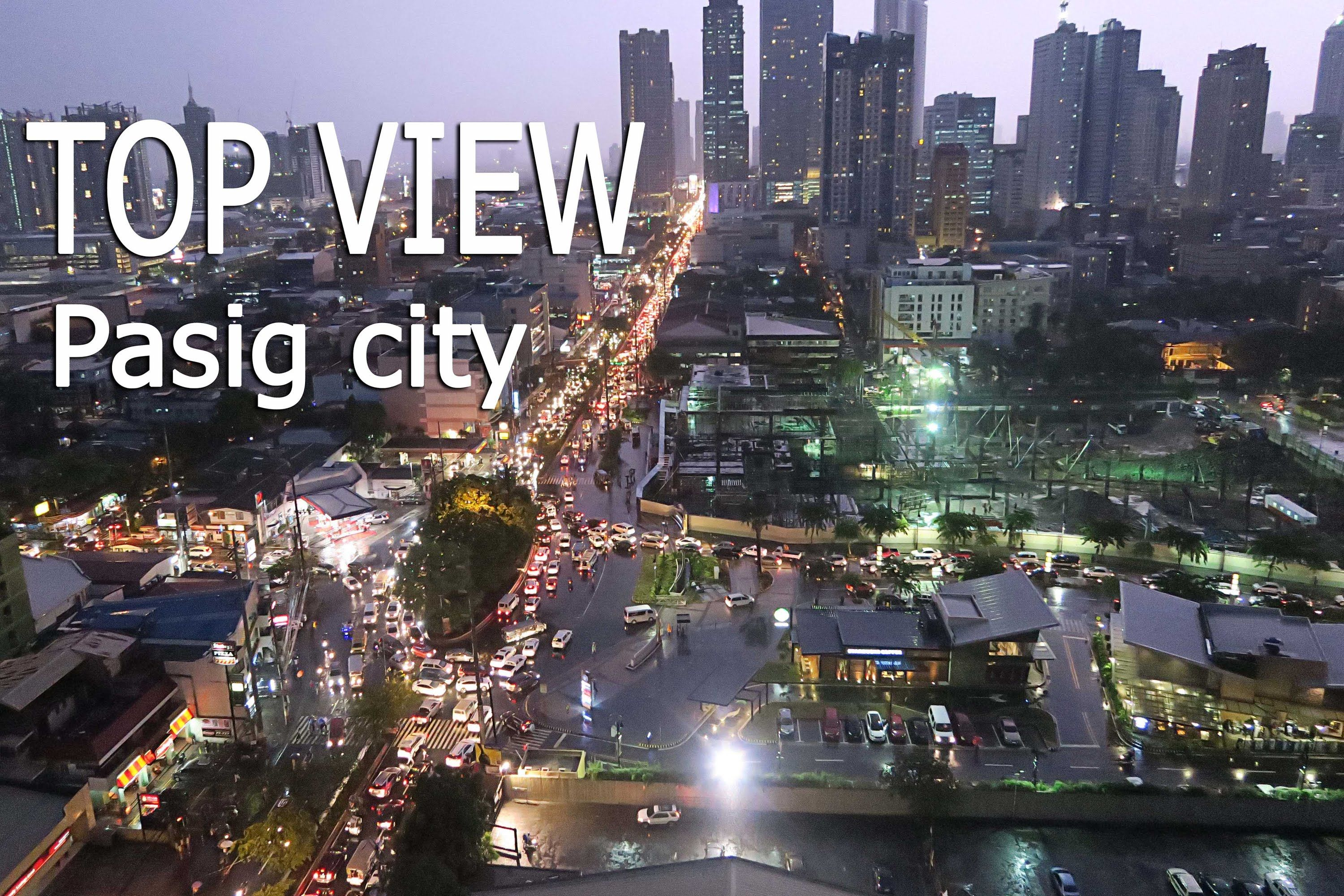 Top View of Pasig City | Philippines - YouTube