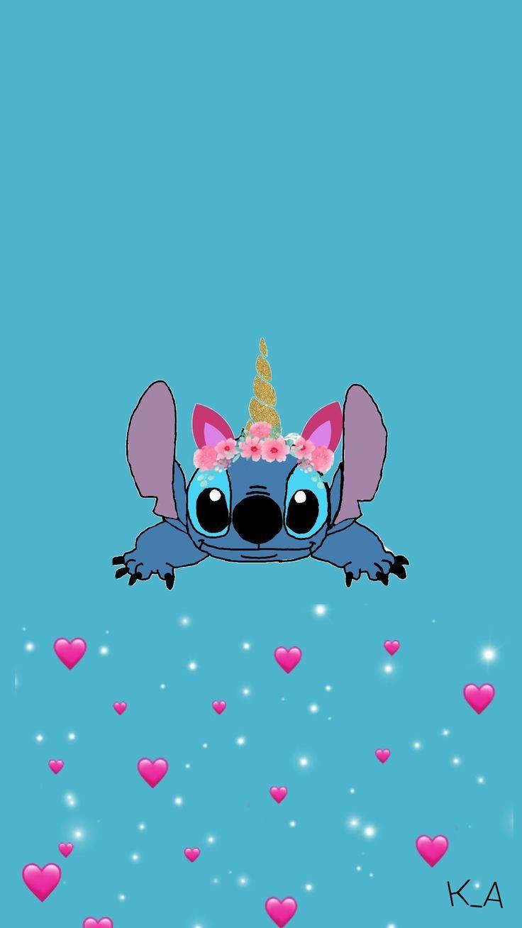 Gambar Kartun Boneka Stitch Lucu