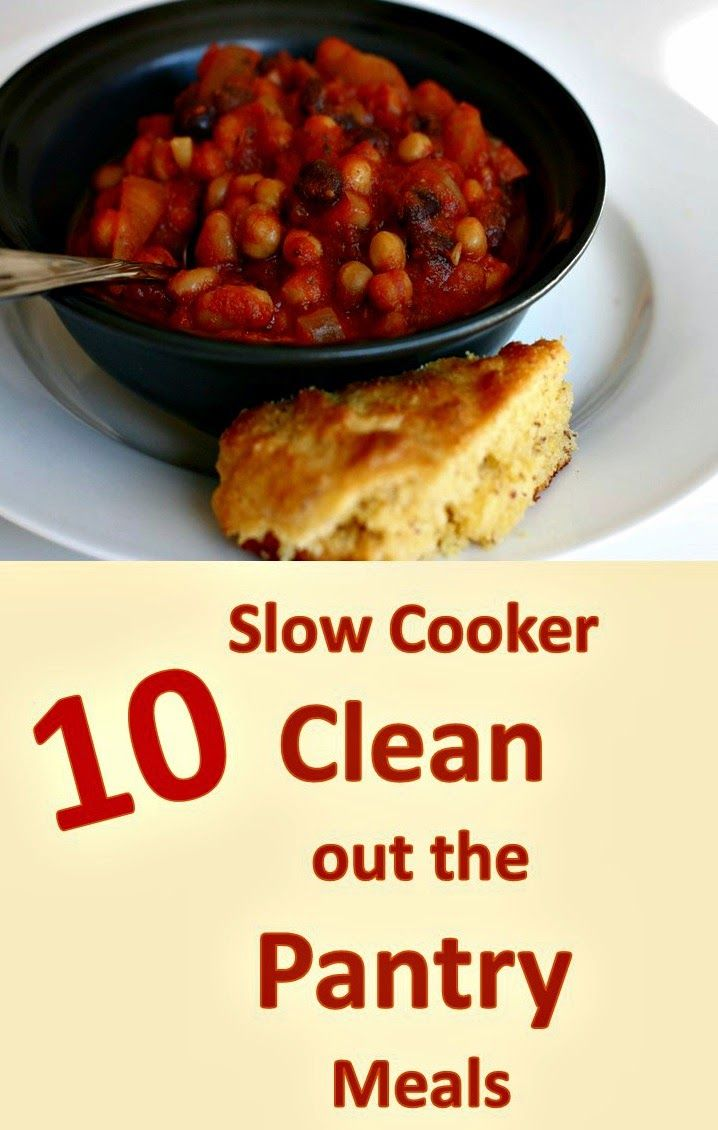 10 Slow Cooker Clean out the Pantry Meals