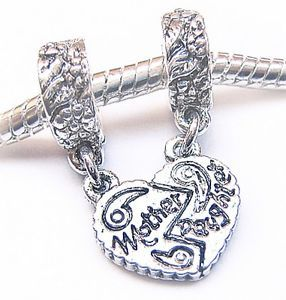Pandora Daughter Charms Antique Silvr Mother Charm Bead Fit Bracelet Condition New