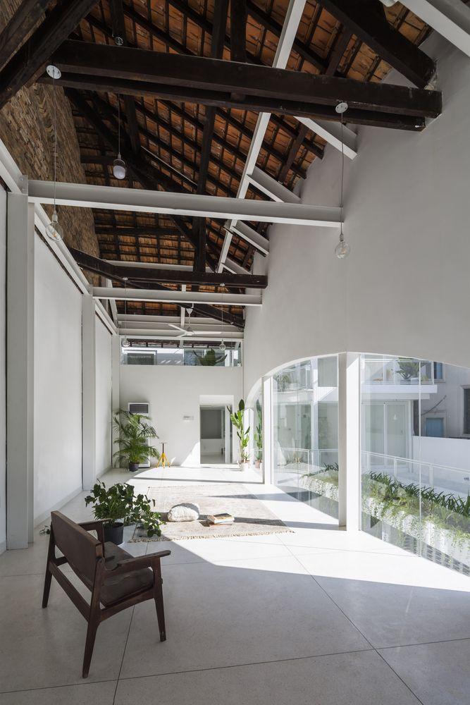 Gallery of D House / KIENTRUC O - 11 | Estructura de madera, Moderno ...