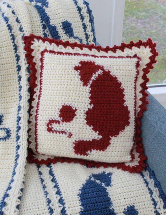 Cat and Mouse Afghan Pattern PDF | Pinterest | Ganchillo, Manta y ...