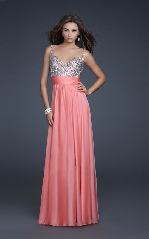 1000  images about Prom dresses on Pinterest  Beaded prom dress ...