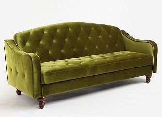 Ava Velvet Tufted Sleeper Sofa Urban Outers Perfect For A Spare Ning Sleeping Place In Kid S Room