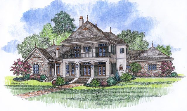 louisiana home designs. South Louisiana House Plans  Acadiana Home Design French Country