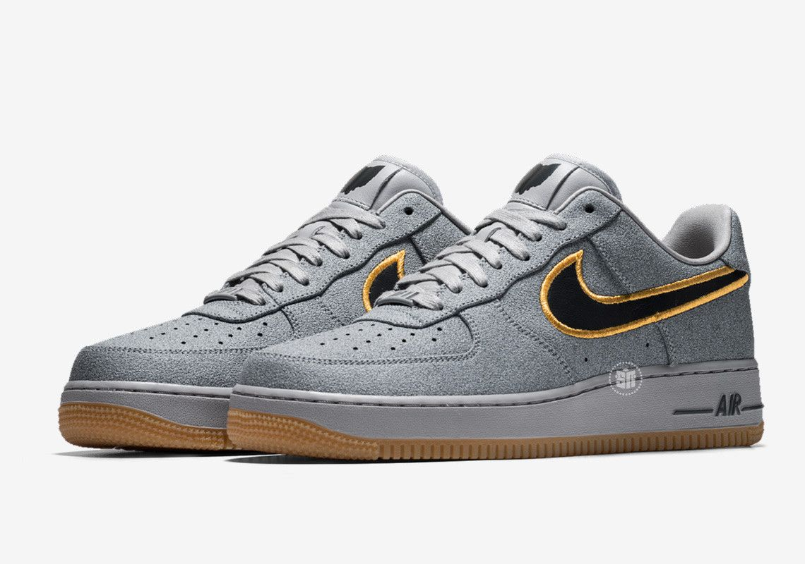 sale retailer db901 8b7da Mushroom Suede Covers The Nike Air Force 1 Low