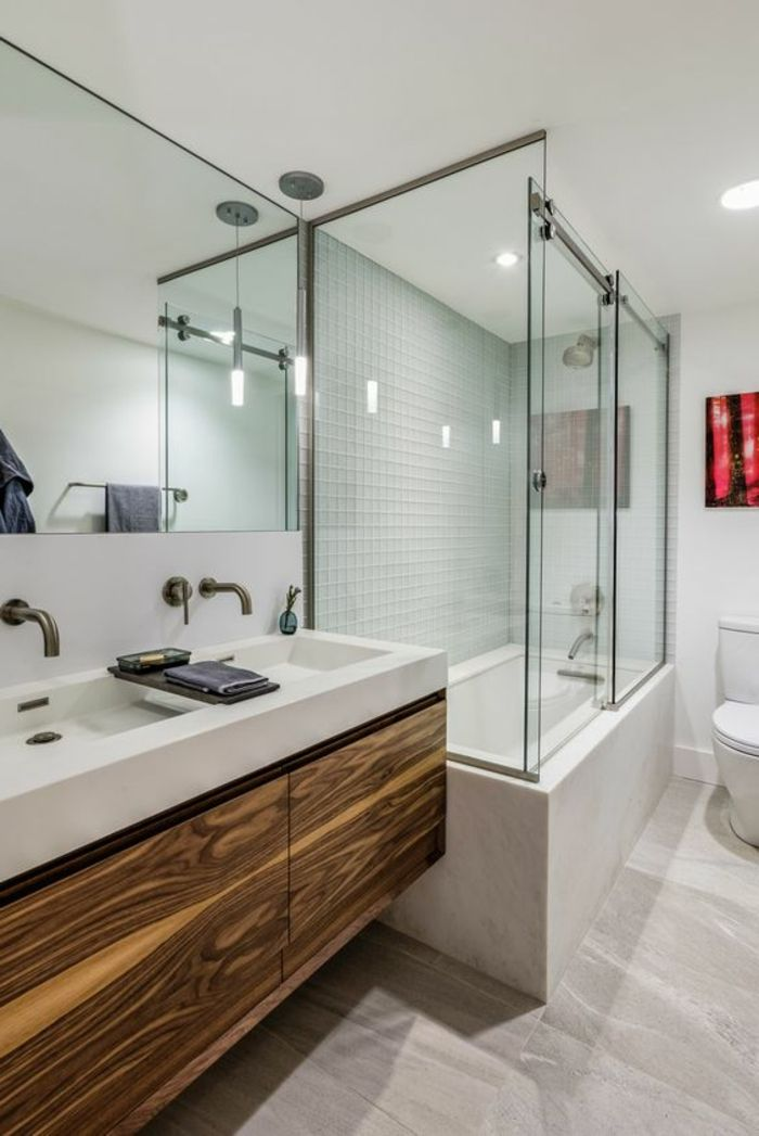 1001 Idees Pour Creer Une Salle De Bain Nature Bathroom