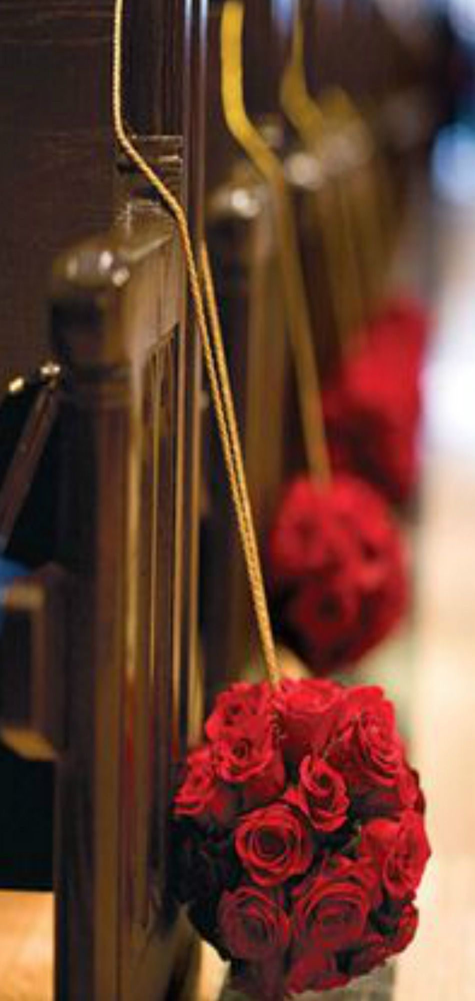 Wedding decorations inside church  Pin by Pat Cole on  From Russia with Love   Pinterest  Rsvp