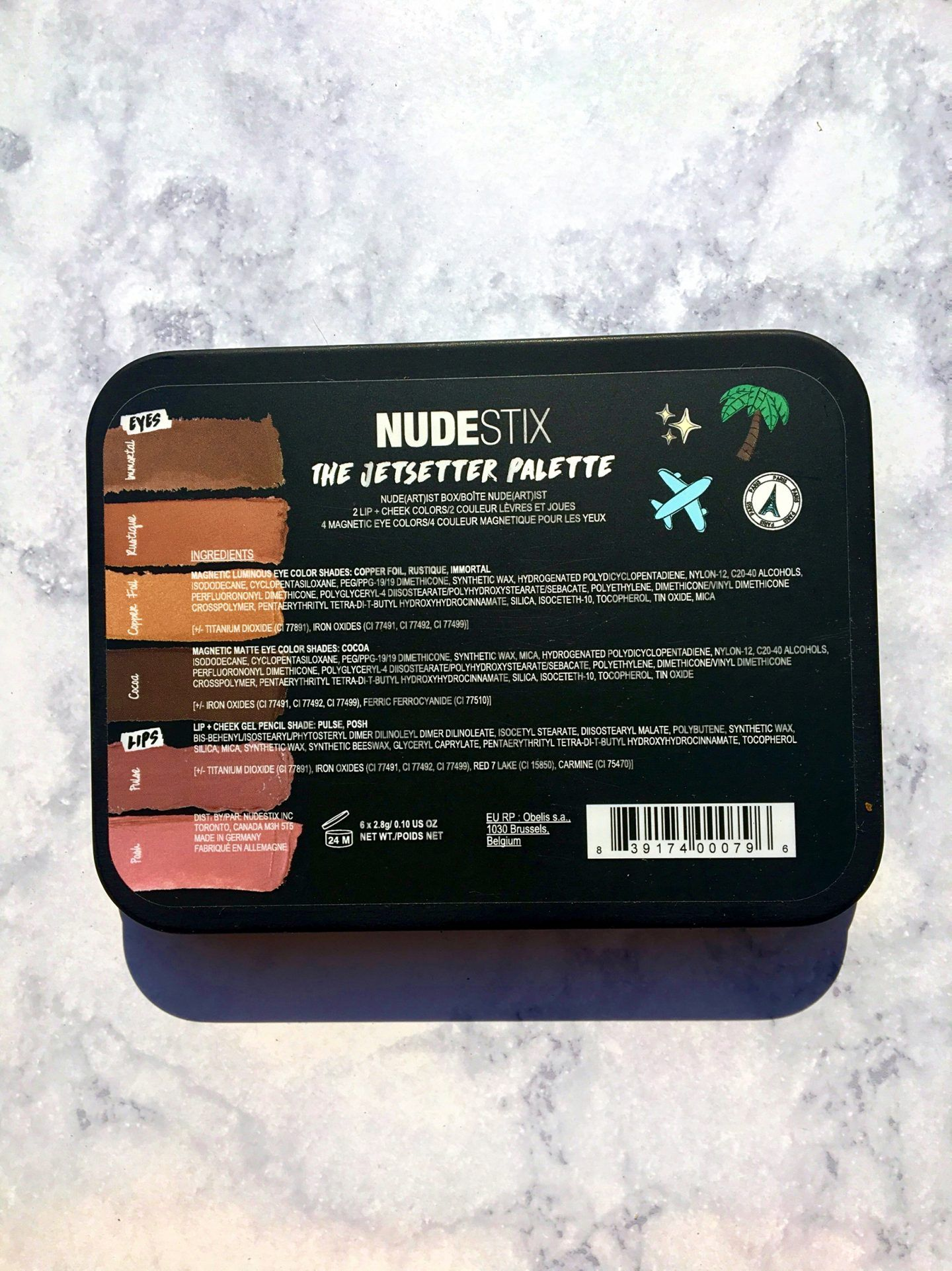 Nudestix Jetsetter Set by Mary Phillips Review, Swatches