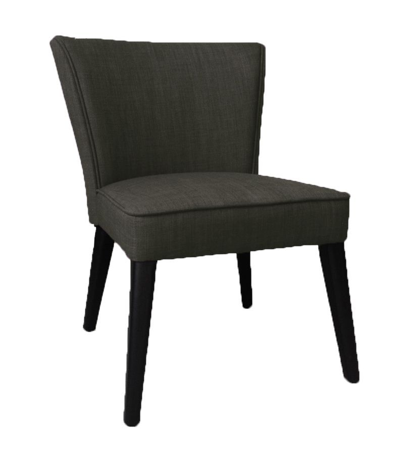Admirable Occasional Faux Leather Accent Chair In Black With Solid Ibusinesslaw Wood Chair Design Ideas Ibusinesslaworg