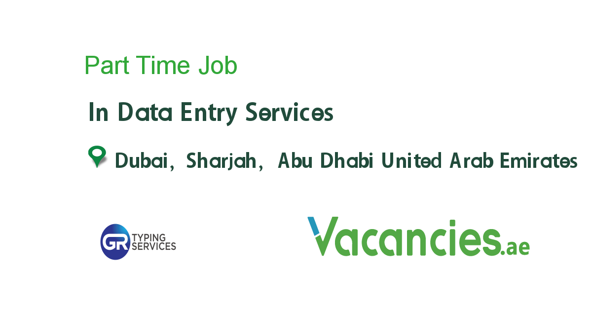 Part Time In 2020 Data Entry Jobs Logistics Management Entry Jobs