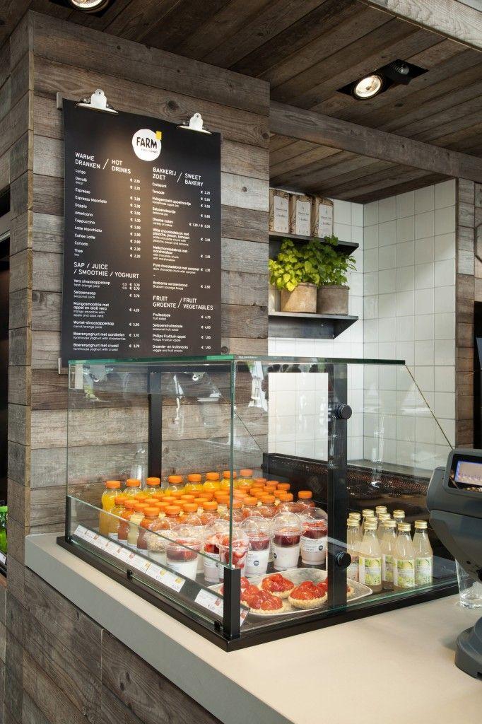 The Farm Edhv Food Display Smoothie Shop Coffee Cafe
