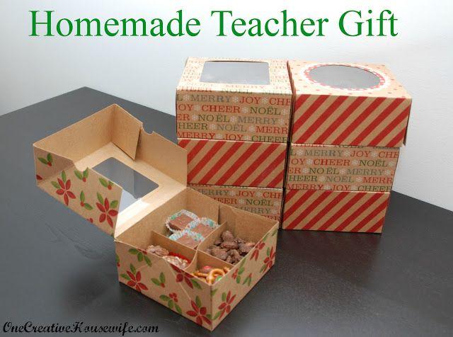 Homemade Christmas Gift for Teachers Holidays - Christmas