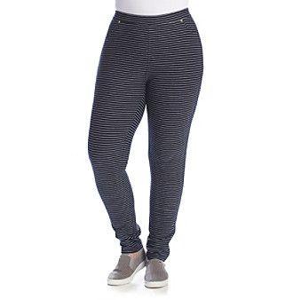 MICHAEL Michael Kors® Plus Size Sailor Stripe Leggings