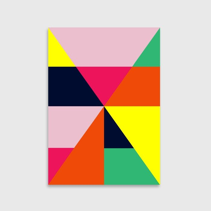 Colour block art print  Block art and Art google