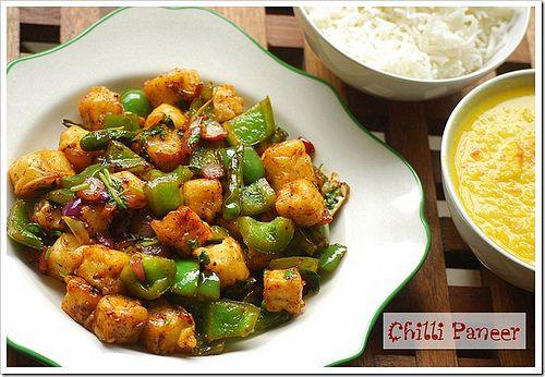 Chilli paneer dry recipe chilli paneer eggless baking and north food chilli paneer dry recipe forumfinder Images