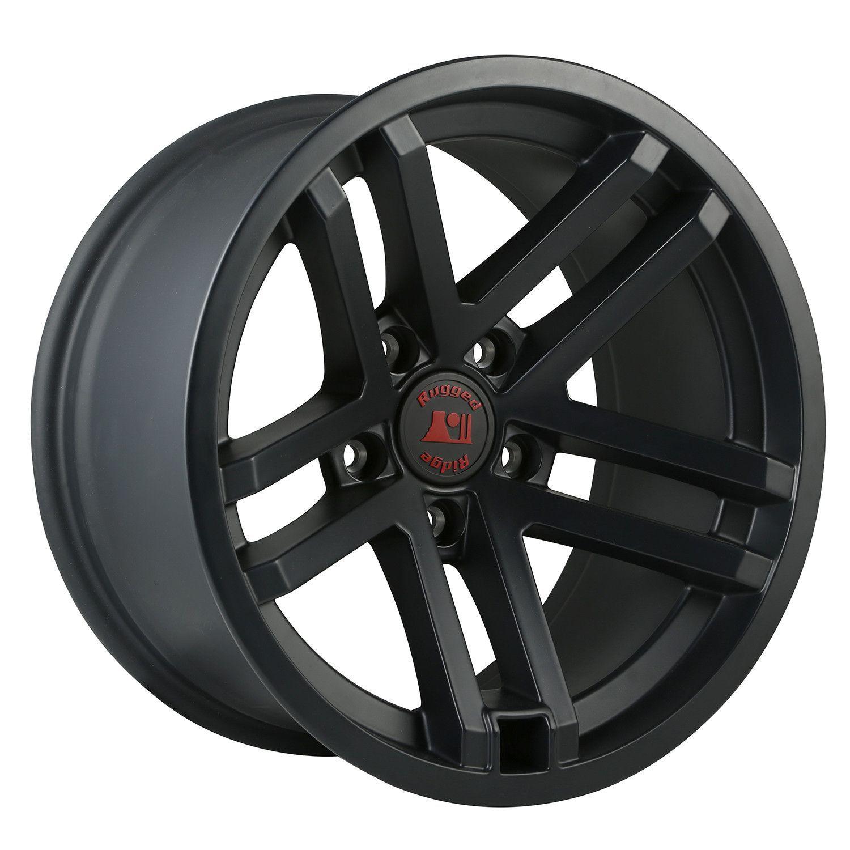 Jesse Spade Wheel 17x9 Black Satin 07 16 Jeep Wrangler Jk At Get4x4parts Com For Only 299 82