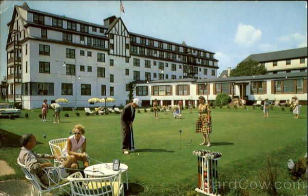 The Old Warren Hotel In Spring Lake Miss It However This Looks To Be Pre Pool Bar Days Cool Pic