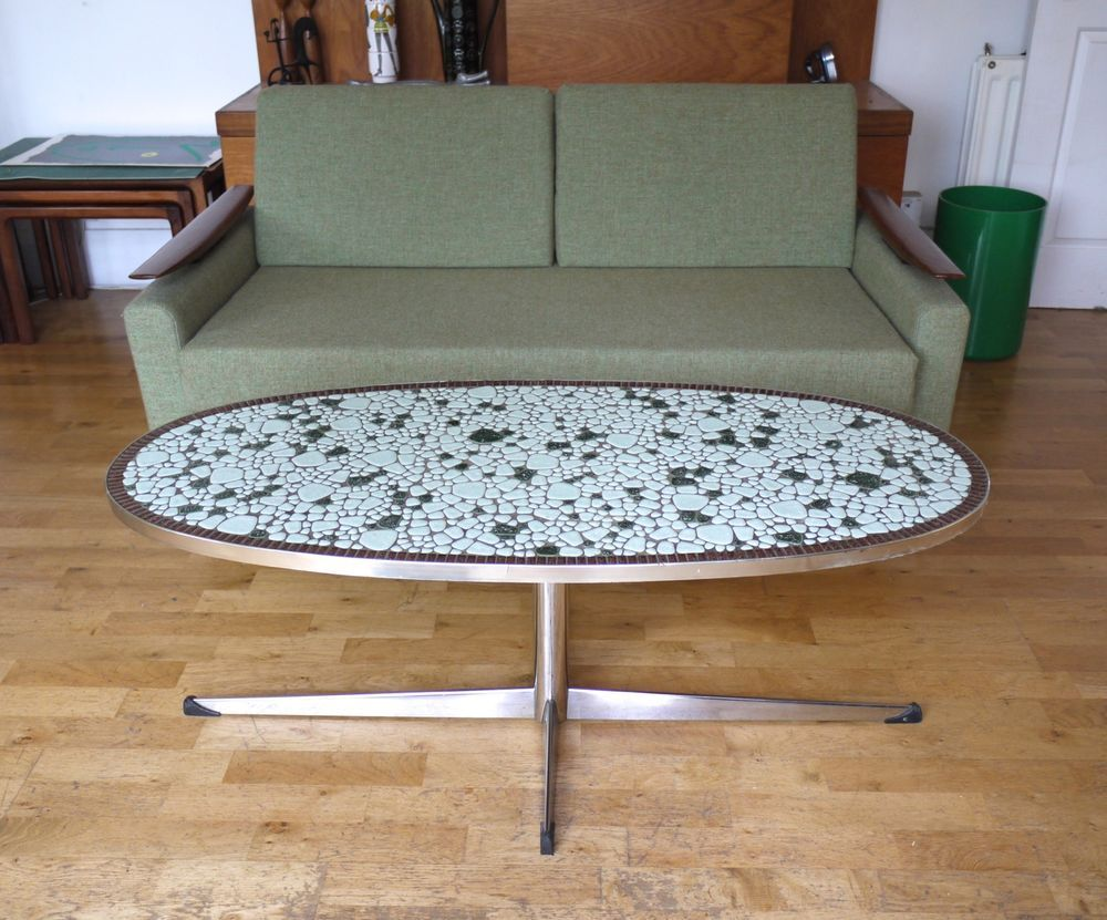 Peachy Beautiful 60S Or 70S Pebble Mosaic Coffee Table Possibly Caraccident5 Cool Chair Designs And Ideas Caraccident5Info