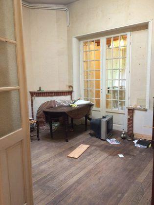 Échoppe à rénover ou surélever à Bordeaux - Salon - Blog Bordeaux Ne