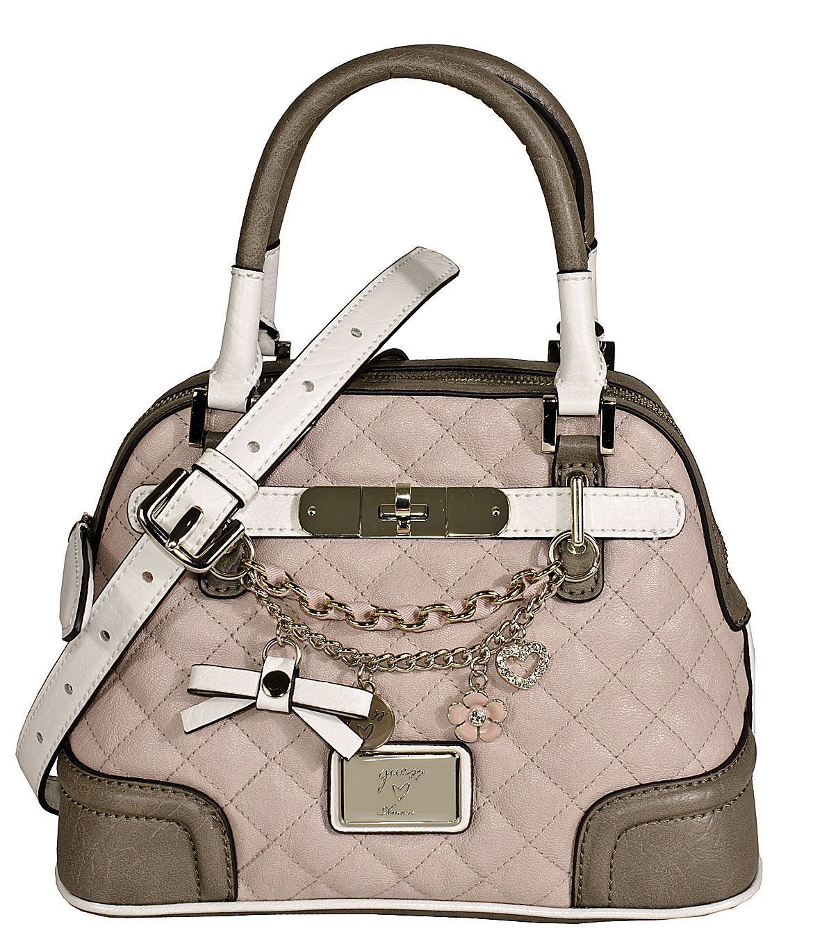 I Found Guess Amour Dome Satchel Purse Handbag On Wish Check It Out