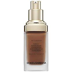 Dolce & Gabbana - The Foundation Perfect Matte Liquid Foundation Broad Spectrum SPF 20 in Soft Sable 180
