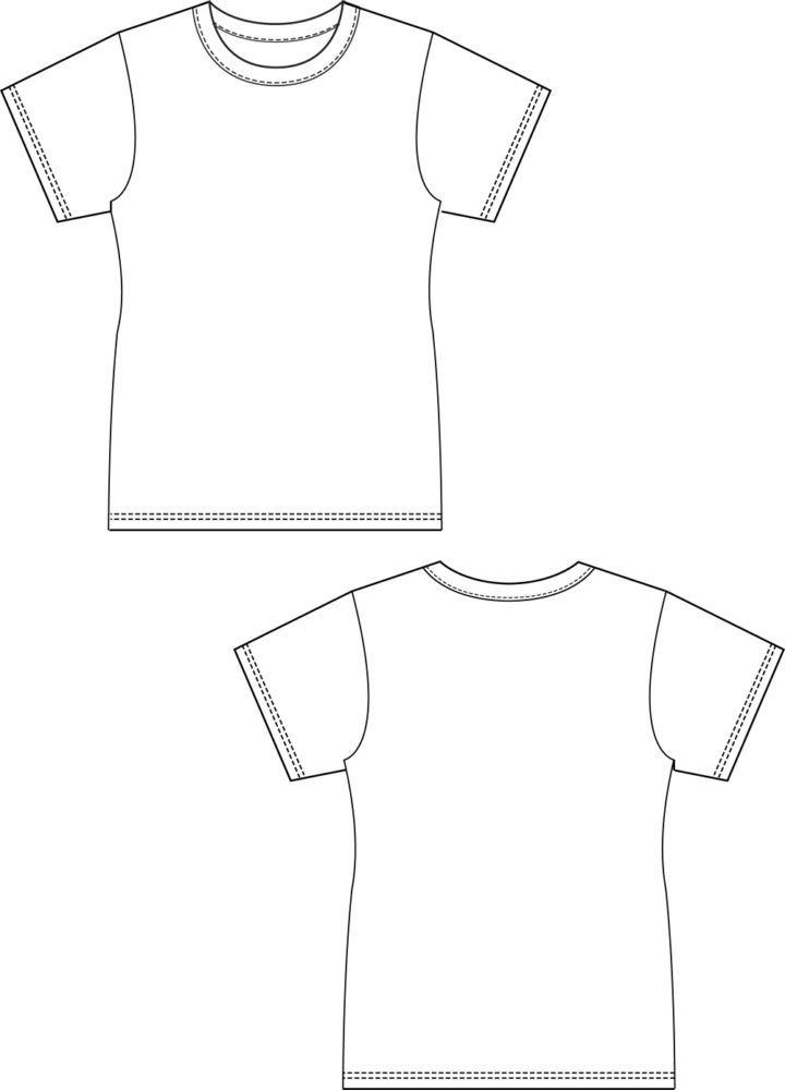 Basic T-Shirt Damen Gr. 34 - 46 | Gratis Schnittmuster