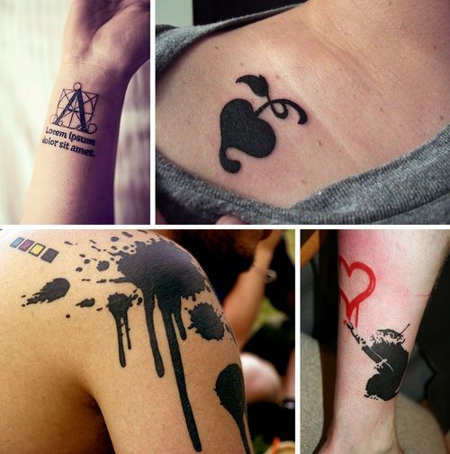 Graphic Tattoo Designs For Girls And Boys Jpg 500 505 Pixels With