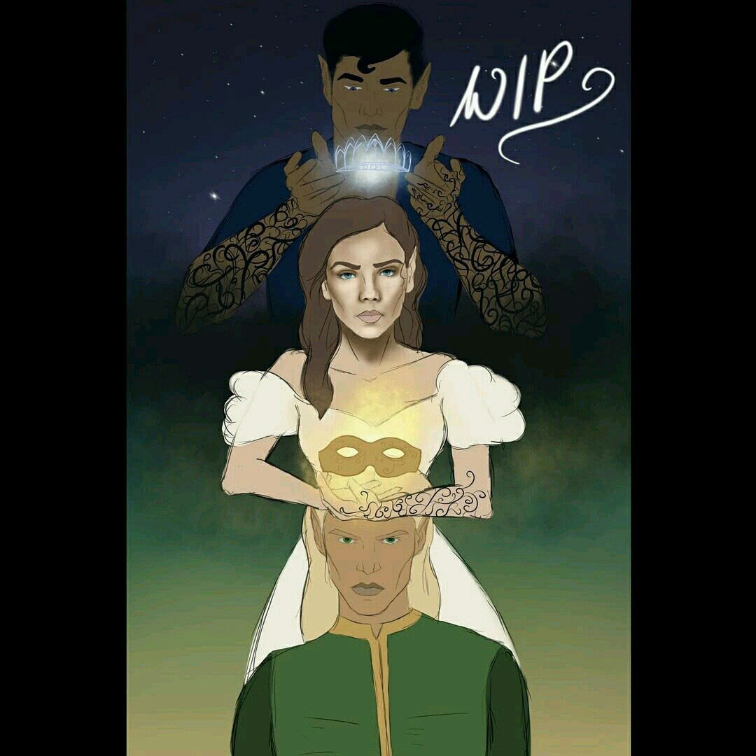 Tamlin Feyre And Rhysand With Images Rhysand Sarah J Maas