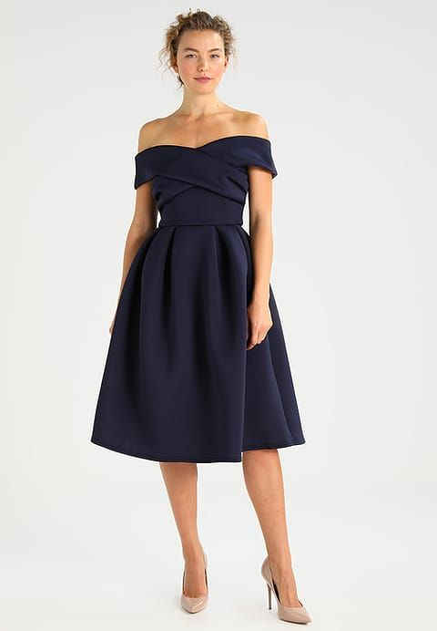 Koktajlowa NavyThe Dress Strapless Sukienka Formal 8POn0wk